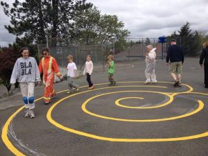 Labyrinth - Vic West School 2